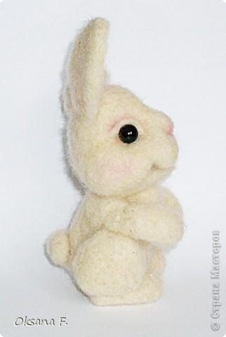 А это вторая моя попытка сделать игрушку в технике фелтинга, и опять по МК Елены Смирновой -  http://utichka.livejournal.com/116035.html В общем, на ваш суд... опять:) фото 3
