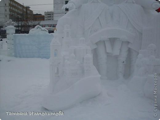 В Перми проходил открытый кубок России по снежной и ледовой скульптуре.Пермяки получили первое место по снежным скульптурам фото 9