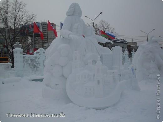 В Перми проходил открытый кубок России по снежной и ледовой скульптуре.Пермяки получили первое место по снежным скульптурам фото 10