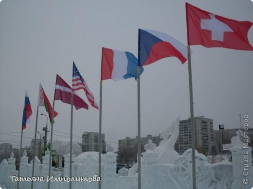 В Перми проходил открытый кубок России по снежной и ледовой скульптуре.Пермяки получили первое место по снежным скульптурам фото 3