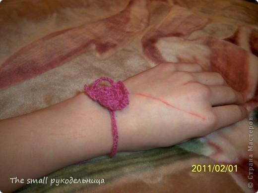 Прошу прощения за царапину - моя кошка цапнула ;) А на другой руке и то хуже царапки-то =) фото 1