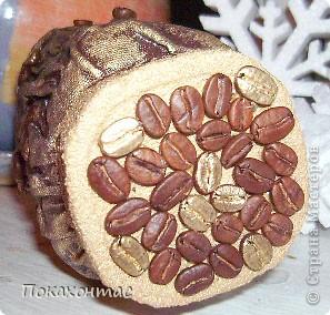Цвета для баночки выбрала кофе и золото светлое. фото 3