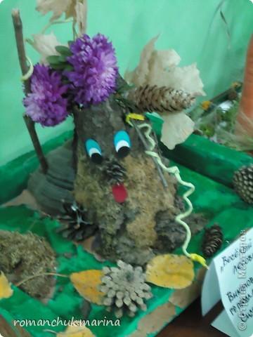 Вот такие интересные поделки сделали дети вместе с воспитателями на праздник осени. фото 13