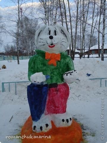 Вот такой снежный городок сделали воспитанники нашего детского дома совместно с воспитателями. фото 6