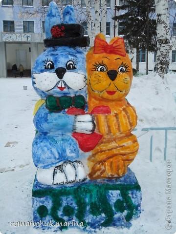 Вот такой снежный городок сделали воспитанники нашего детского дома совместно с воспитателями. фото 8