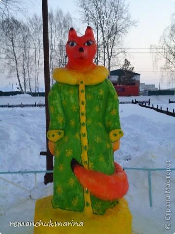 Вот такой снежный городок сделали воспитанники нашего детского дома совместно с воспитателями. фото 11