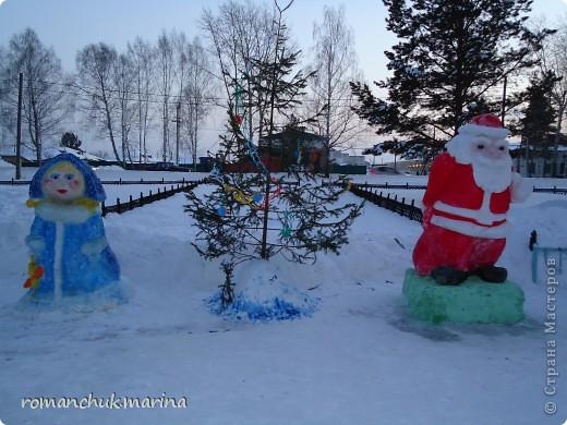 Вот такой снежный городок сделали воспитанники нашего детского дома совместно с воспитателями. фото 12