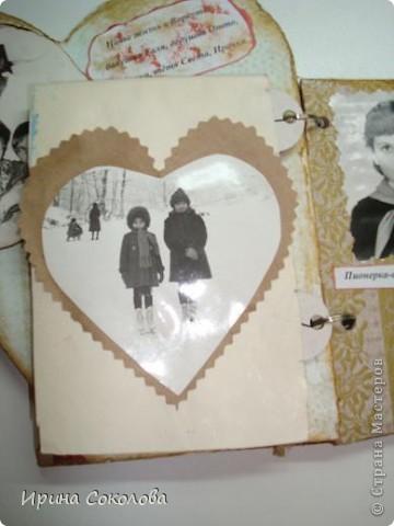 Вот такой мини-альбомчик я сделала для своей старшей сестрички.  фото 14