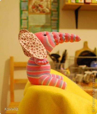 Доброе время суток! Это продолжение носочковой темы - Скромница Слоняшка. фото 4