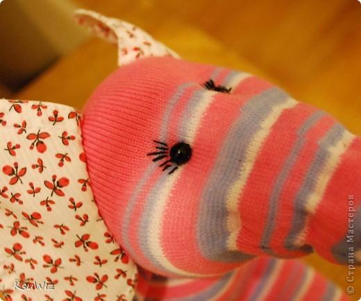 Доброе время суток! Это продолжение носочковой темы - Скромница Слоняшка. фото 2
