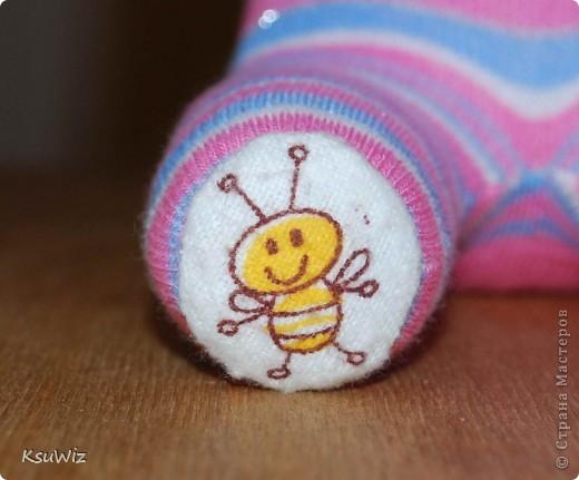 Доброе время суток! Это продолжение носочковой темы - Скромница Слоняшка. фото 3