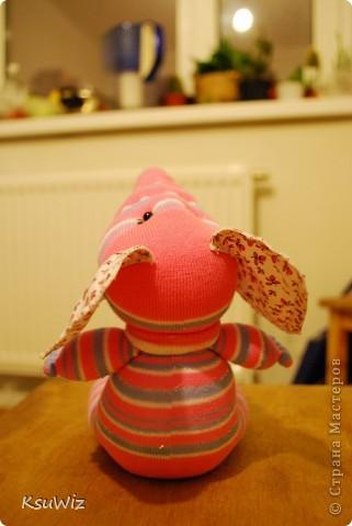 Доброе время суток! Это продолжение носочковой темы - Скромница Слоняшка. фото 5