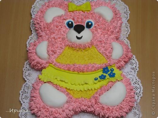 Торт в виде мишки фото