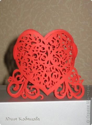 А вот и мое сердечко - вырезалка. фото 2