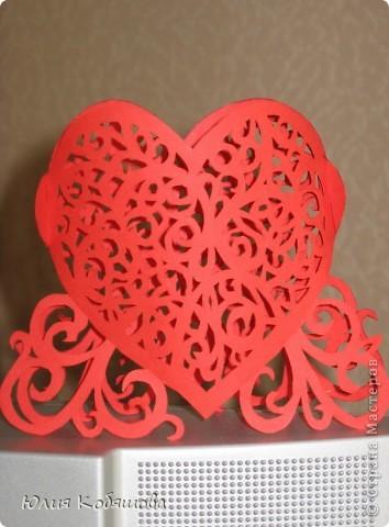 А вот и мое сердечко - вырезалка. фото 1