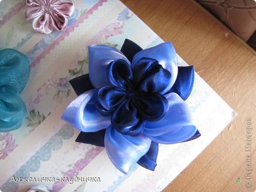 цветок состоящий из трёх цветков-заготовок фото 1
