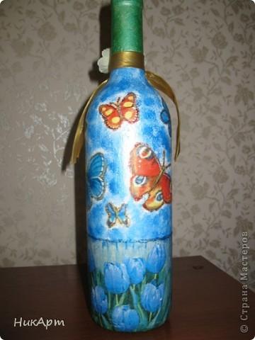 Бутылочка для подруги на день рождения. фото 1
