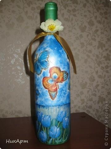Бутылочка для подруги на день рождения. фото 2