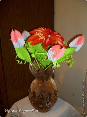 Ваза с цветами. фото 1