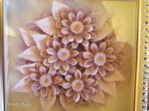 Сиреневые цветочки. Размер 15х15см.  фото 2