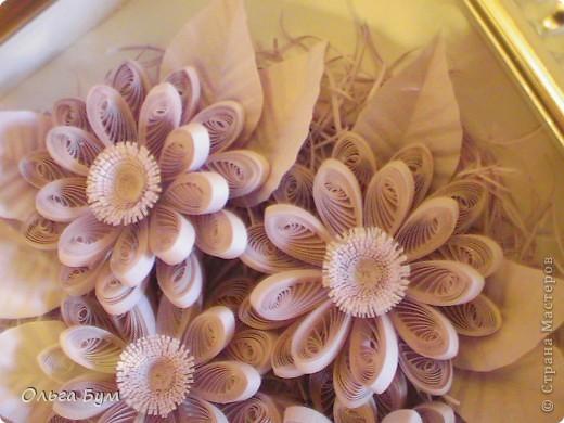 Сиреневые цветочки. Размер 15х15см.  фото 3