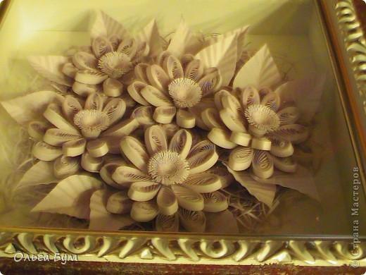 Сиреневые цветочки. Размер 15х15см.  фото 5