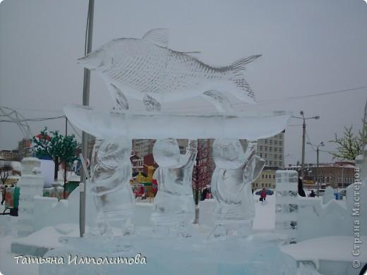 В Перми проходил открытый кубок России по снежной и ледовой скульптуре.Пермяки получили первое место по снежным скульптурам фото 12