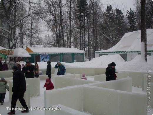В Перми проходил открытый кубок России по снежной и ледовой скульптуре.Пермяки получили первое место по снежным скульптурам фото 20