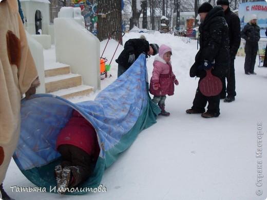 В Перми проходил открытый кубок России по снежной и ледовой скульптуре.Пермяки получили первое место по снежным скульптурам фото 18