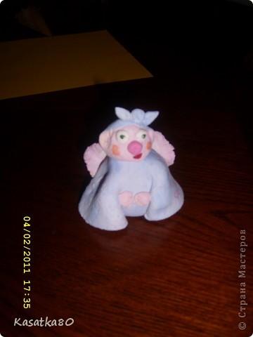 Мишка Тедди из соленого теста фото 2