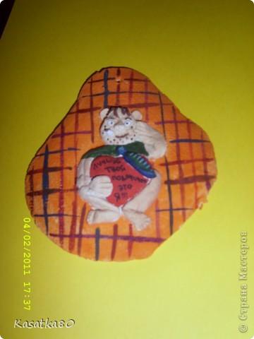 Мишка Тедди из соленого теста фото 4