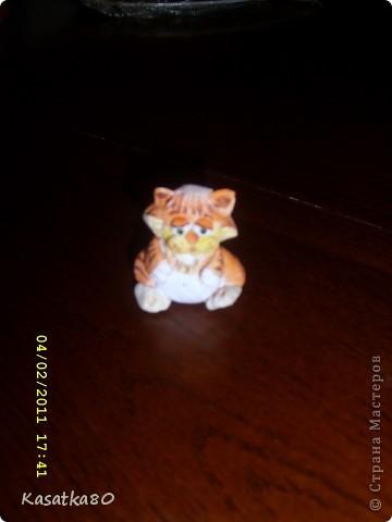 Мишка Тедди из соленого теста фото 6