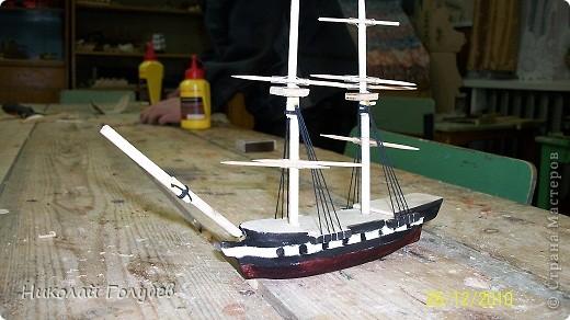 Кораблик в бутылке.Попробовали и такую технику... фото 7