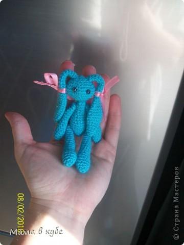 зайка амигуруми-инопланетянка фото 1