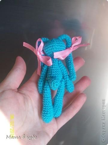 зайка амигуруми-инопланетянка фото 3