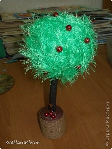 фантазийное дерево, выполнил Моругов Игнат 1 класс фото 1