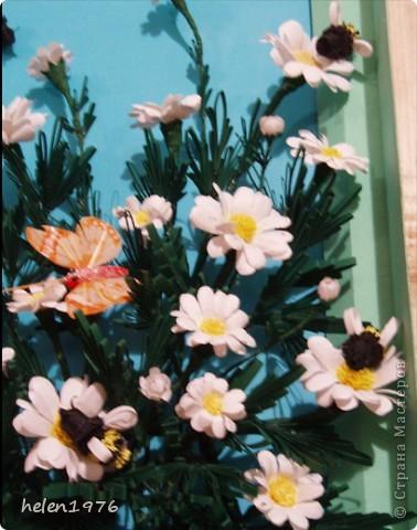 Вот такой кусочек лета был подарен в зимний день моей дорогой подруге на день рождение! Это фото пока без рамки и стекла. фото 3