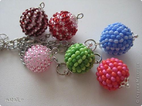 Мои шарики Бисер Нитки