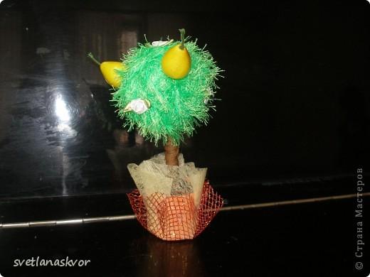 фантазийное дерево, выполнил Моругов Игнат 1 класс фото 4