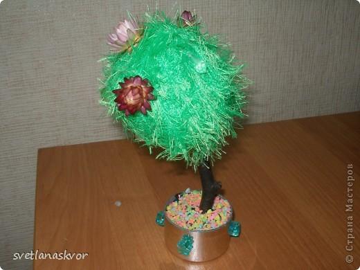 фантазийное дерево, выполнил Моругов Игнат 1 класс фото 7