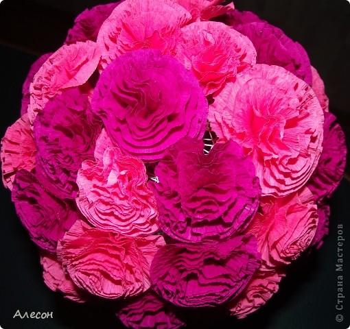 Цветочный  шар фото 2
