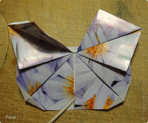 Эта бабочка из книги - Origami Butterflies - Michael G. LaFosse фото 36
