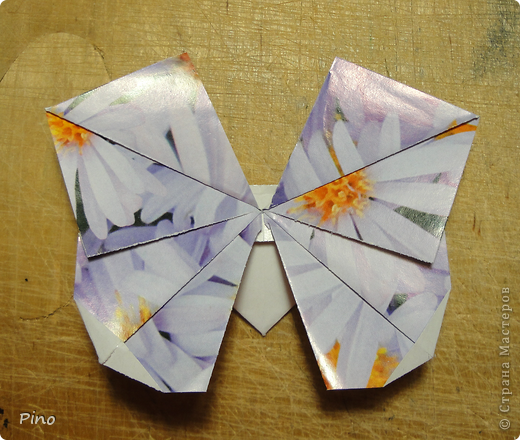 Эта бабочка из книги - Origami Butterflies - Michael G. LaFosse фото 37