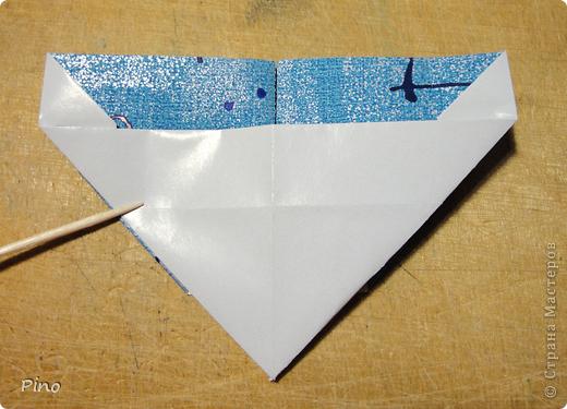 Эта бабочка из книги - Origami Butterflies - Michael G. LaFosse фото 12