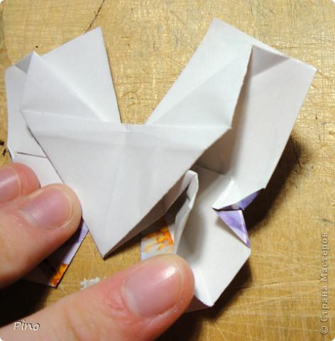 Эта бабочка из книги - Origami Butterflies - Michael G. LaFosse фото 38