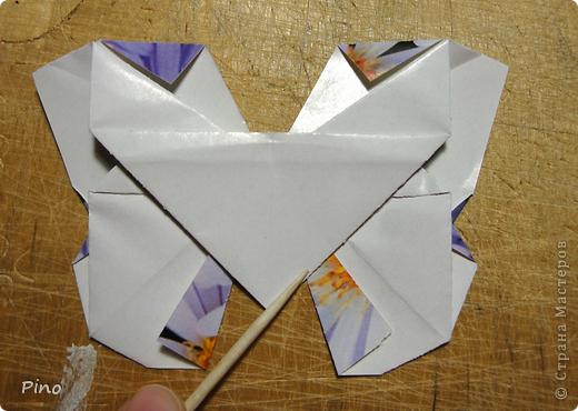 Эта бабочка из книги - Origami Butterflies - Michael G. LaFosse фото 39