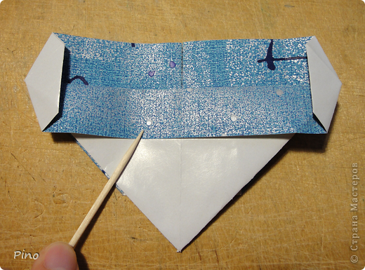 Эта бабочка из книги - Origami Butterflies - Michael G. LaFosse фото 14