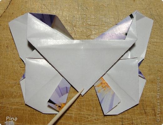 Эта бабочка из книги - Origami Butterflies - Michael G. LaFosse фото 40