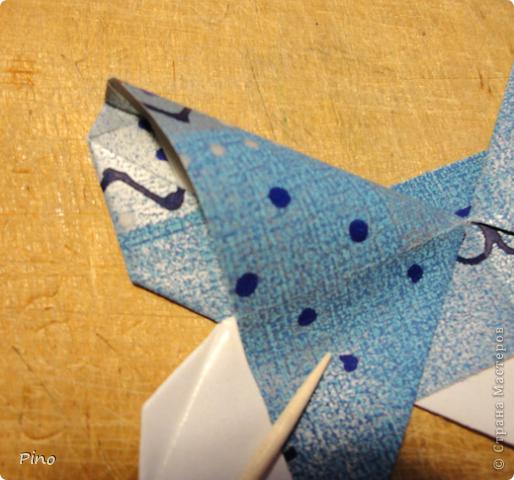 Эта бабочка из книги - Origami Butterflies - Michael G. LaFosse фото 18