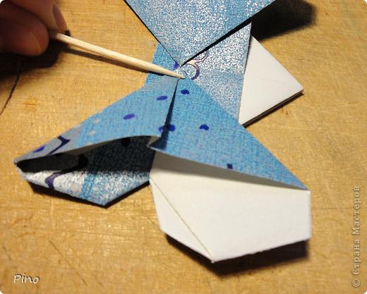 Эта бабочка из книги - Origami Butterflies - Michael G. LaFosse фото 19